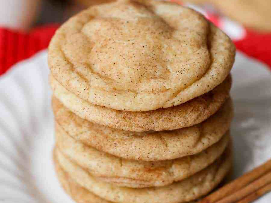 Christmas Cookies Christmas Baking  Snickerdoodles